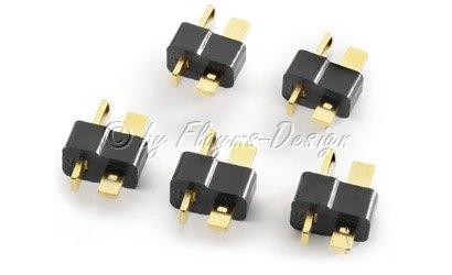 T-Plug T-Stecker Carson 906005 Hochstromstecker 5 Stück
