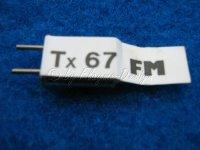 FM SENDERQUARZ 35,070 TX67 robbe futaba