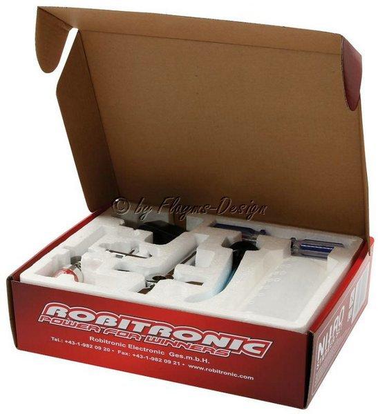 Nitro Starter Kit mit Glühkerzenstarter 2000mAh + Werkzeug + Tankflasche