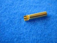 GOLDBUCHSE 4mm Hochstrom Anschlussbuchse zum anlöten