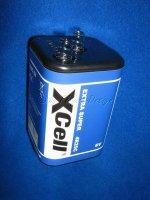 X4R25C 6V ZN C6V 9,5Ah Hochleistungsbatterie BLOCK XCell...