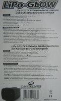 Li-Po Glühkerzenstarter Glühkerzenstecker mit Kontroll-LED 1S 3,7V 1200mAh