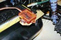 Transponder Halter für Tamiya Fighter GFK / Alu Carson