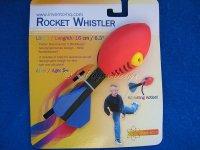 Rocket Wistler Wurfspiel mit Pfiff für Kid`s ab 5 rot
