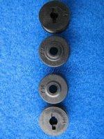 Riemenradsatz 16 Zähne + 17 Zähne CT4S alt bis 2004 Krick CT015