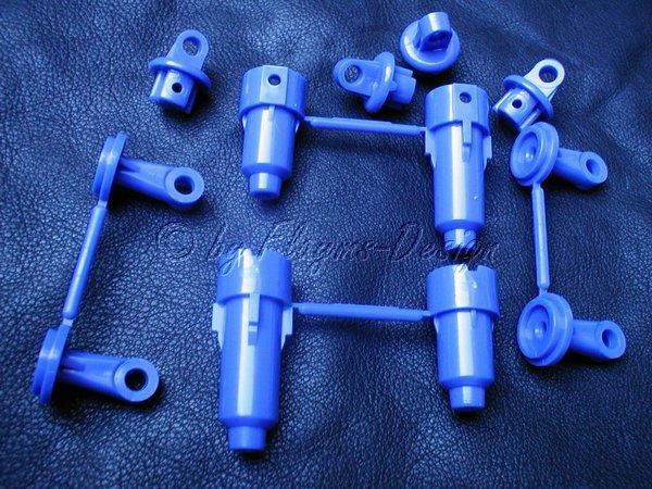 Stoßdämpferteile F-Parts blau für Tamiya Super Fighter G