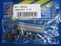 Kugellagersatz für Tamiya TT-01 TT-01E und TT-02B Chassis Carson 500904054 500904032