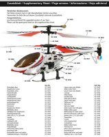 Blatthalter unten 031638 für den neuen Jamara Gyro Heli