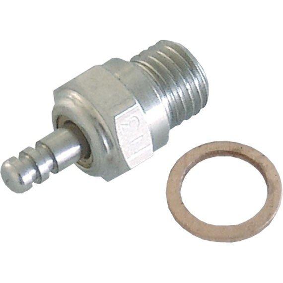 Glühkerze Nr.4 robbe medium für 2,5-4ccm Motor. Ersetzt d. 4CY C8127-2 71601