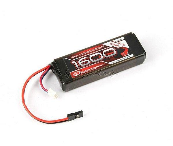 LiFe Po 6,6v 1600mAh 2/3A Straight Empfängerpack (EH) Robitronic