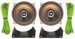 Einbau - Lautsprechersatz DIN130 Universal 2-WEGE AIV