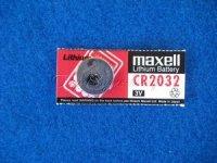 Knopfzelle CR2032 3V 220mAh Lithium für Rechner + Fernbedienung