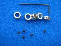 Stellringe für Wellen 6mm mit Innensechskantschrauben 5 Stück Krick 50497