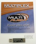 USB Multi flight Stick M-Link  Multiplex Flug Simulator 85147