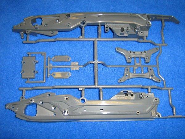 Dämpferbrücken und Chassis C-Parts C-Teile zu DT-03 Neo FighterTamiya