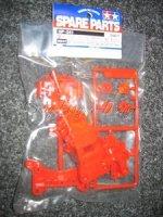 Getriebegehäuse rot vorne zu TAMIYA TA-01 TA-02 Chassis