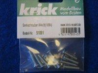 Senkkopfschrauben M4x20mm (10) Krick 51091