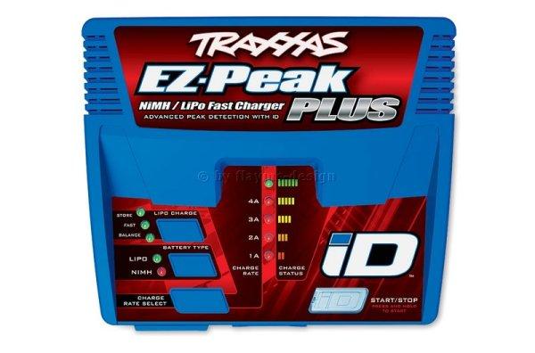 EZ-Peak Plus 4-Amp NiMh Li-Po Schnell-Lader mit iD Erkennung Traxxas 2970G